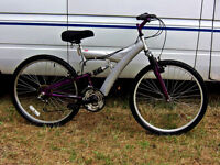 ADULTS FULL SUSPENSION MOUNTAIN BIKE FULLY SERVICED READY TO RIDE