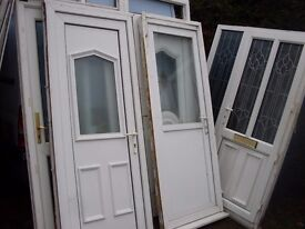 large bundle of upvc doors 5 units and loads of spares