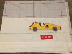 Next boy race car curtains