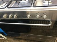 Stainless steel range cooker. Free local delivery