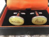 Paul Smith cuff links. Barely used in box.