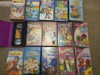 Children's Vhs tapes