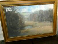 Golfer's painting #21414 £10