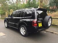 Mitsubishi shogun warrior 7 seater 2004 auto black fully loaded