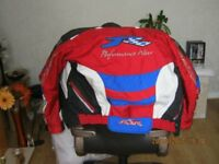 ladies small bike jacket