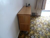 Pine sideboard for sale, good condition.
