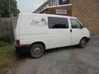 T4 van with bed & swivel seats £3500 or near offer