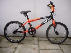 Kids BMX by Vibe, Black with Flames, 20 inch Wheels are for Kids 7+,JUST SERVICED/ CHEAP PRICE!!!!!