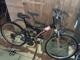 Full suspension mountain bike. Serviced, Free Lights & Local Delivery. Warranty.
