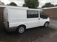 Ford transit factory fitted crew cab 2010
