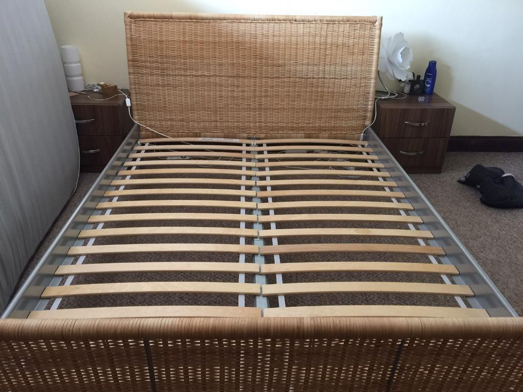 Wicker Bed Frame Ikea | Credainatcon.com
