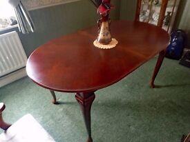 Beautiful Solid Wood Extending Dining Table for sale