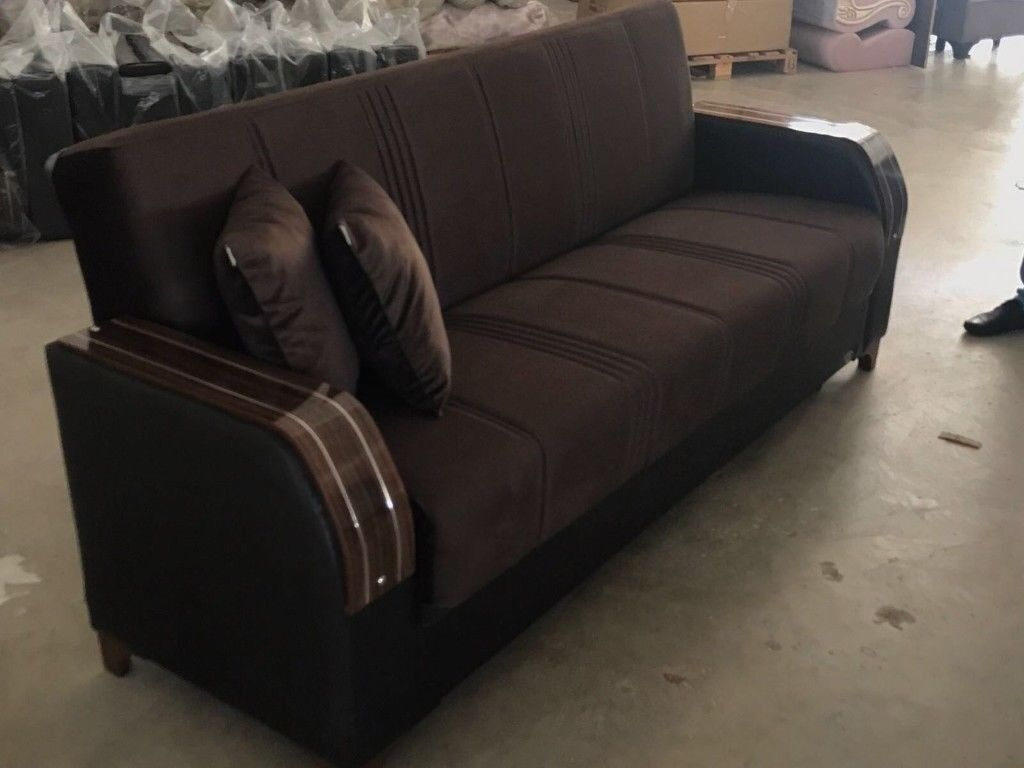 Brand New Turkish Sofa Bed With Storage On Same