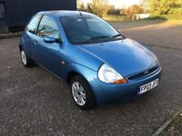 2003 FORD KA 1.3 COLLECTION 84000 MILES