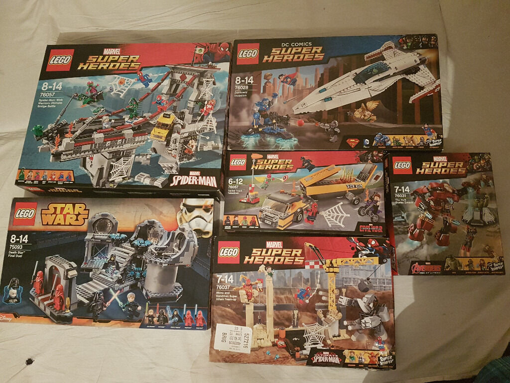 LEGO Sets BUNDLE!! Star Was and SuperHeroes!!