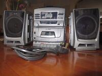 Hitachi CX 310 Portable Stereo