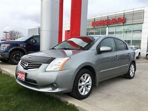 2012 Nissan Sentra 2.0 S LUXURY, BLUETOOTH, POWER ROOF, HEATED S