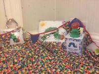 Hungry caterpillar nursery set