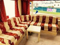 Stylish static caravan for sale at sandy bay holiday park with direct beach access pet friendly park