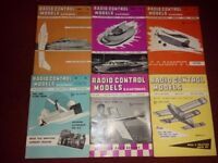 Radio control models magazines 1964!