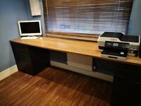 IKEA desk and units