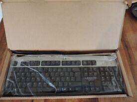 Genuine HP Wired Keyboard KB-0316 (UK English) Brand New