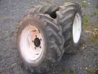 3 Wheels To Suit 3 Or 4 Ton Dumper