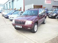 Jeep Grand Cherokee Limited Crd (red) 2002