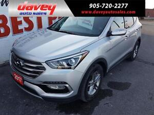 2017 Hyundai Santa Fe Sport 2.4 Premium HEATED SEATS AND STEE...