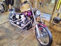 Harley Davidson Evo Dyna Wideglide + spares