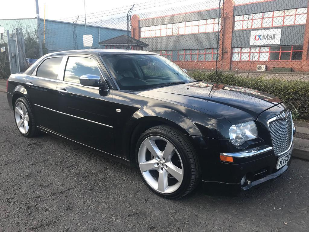 ***CHRYSLER 300C 3.0 CRD FULL SERVICE HISTORY+EXHAUST BODY KIT+FULL SRT  STYLING***£4990!