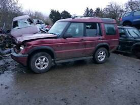 Landrover discovery td5 gearbox/engine