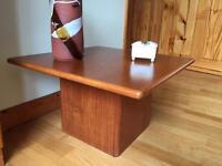 Three danish teak tables