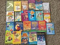 Children's book bundle Tom Gates. Harry Potter etc