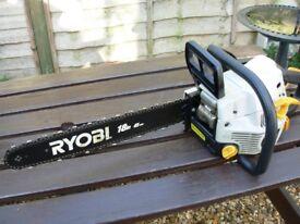 Petrol Ryobi 18 inch 45cm cut chainsaw.Good condition.