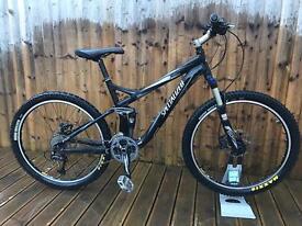 Specialized cx fsr comp full suspension mountain bike will post