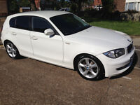 bmw 1 series e87 2011 5 door Diesel White offer welcome astra micra fiesta gulf