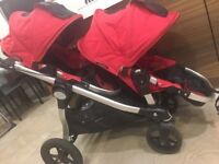 Baby jogger city select double pushchair stroller