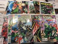 Green Lantern / Green Arrow / Flash / Aquaman DC comic books graphic novels