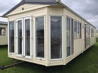 Only £2000 deposit & £349 pm with 2017 fees already paid on this static caravan at sandy bay