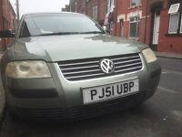 Passat 1.9 TDI, 131bhp PD engine for sale px or swap