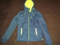 Teenager/Mens XS Superdry Hooded SD-Windtrekker Jacket
