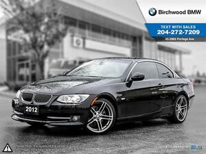 2012 BMW 3 Series 328i Executive, Technology Packages!
