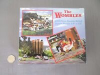 """THE WOMBLES 200 PIECE DOUBLE SIDED JIGSAW PUZZLE 19"""" X 22"""""""