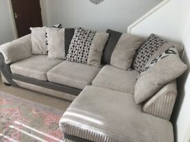 Large DFS corner sofa for sale