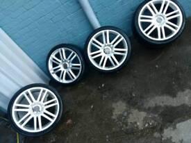 Vw audi alloy wheels