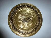Large brass wall plate. Lovely!