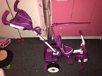 Smart trike (purple)