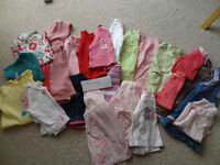Girls bundle of clothes 9-12 months