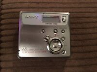 Sony Net Minidisc Walkman